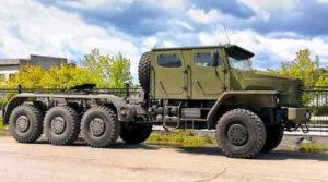 В Сети опубликованы фото тягача-танковоза «УРАЛ-6308»