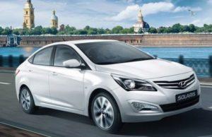 Hyundai Solaris в июле лидирует на авторынке Москвы