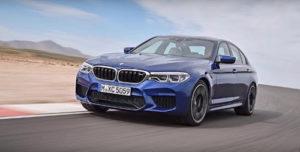 Седан BMW M5 2018 рассекречен за день до дебюта