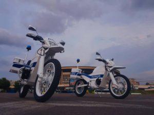Калашников показал электромотоциклы для полиции