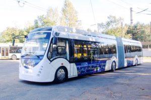 Московские электробусы получат Wi-Fi и USB-зарядки
