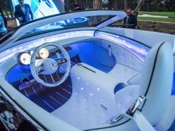 Mercedes вдохновилась стилем ар-деко в новом концептуальном электрокаре