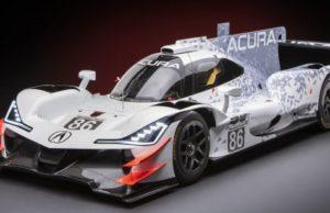 Acura представила новый спортпрототип — ARX-05