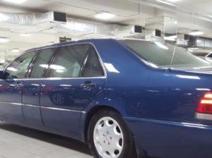 Бронированный лимузин Ельцина продан за 20 млн руб.