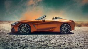 Официально: BMW представила концептуальный родстер Z4