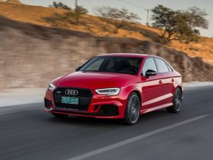 Audi RS 3 седан 2018 года