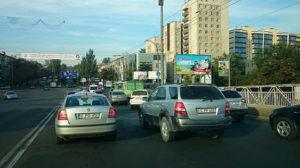 Чем закончилось противостояние водителя и пешехода в Кишиневе