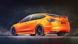 Самая доступная модель Tesla получила первый тюнинг-пакет