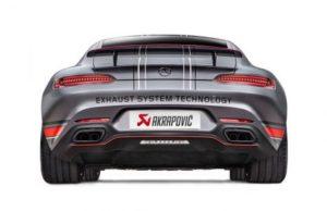 Akrapovic делает кастомный выхлоп для Mercedes-AMG GT