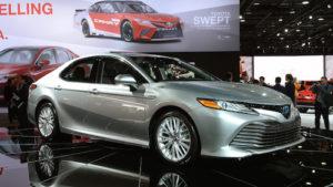 Названа дата начала продаж нового поколения «Тойота Камри»