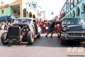 Все автомобили из фильма форсажа 8