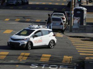 Горожане атакуют автомобили-беспилотники в Сан-Франциско