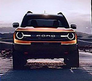 Опубликованы первые фото нового внедорожника Ford Bronco 2019