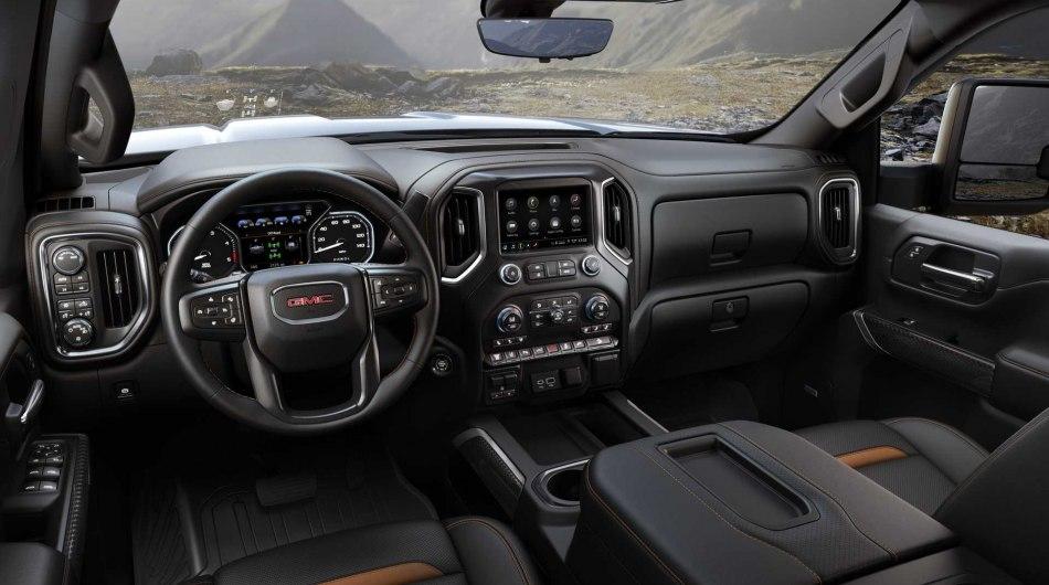 GMC представил свой обновленный пикап GMC Sierra HD 2020