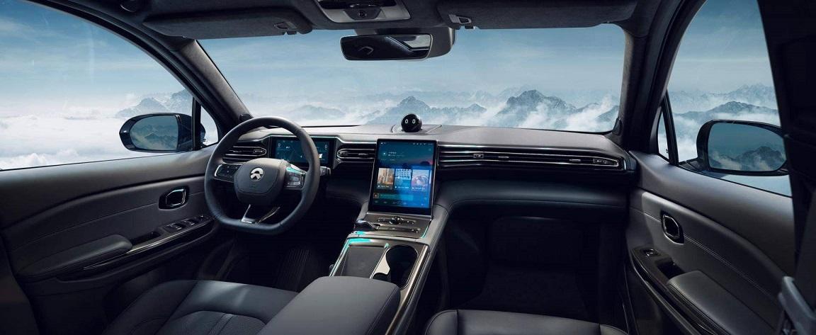 Представлен очередной Китайский конкурент Tesla электрический кроссовер Nio ES6