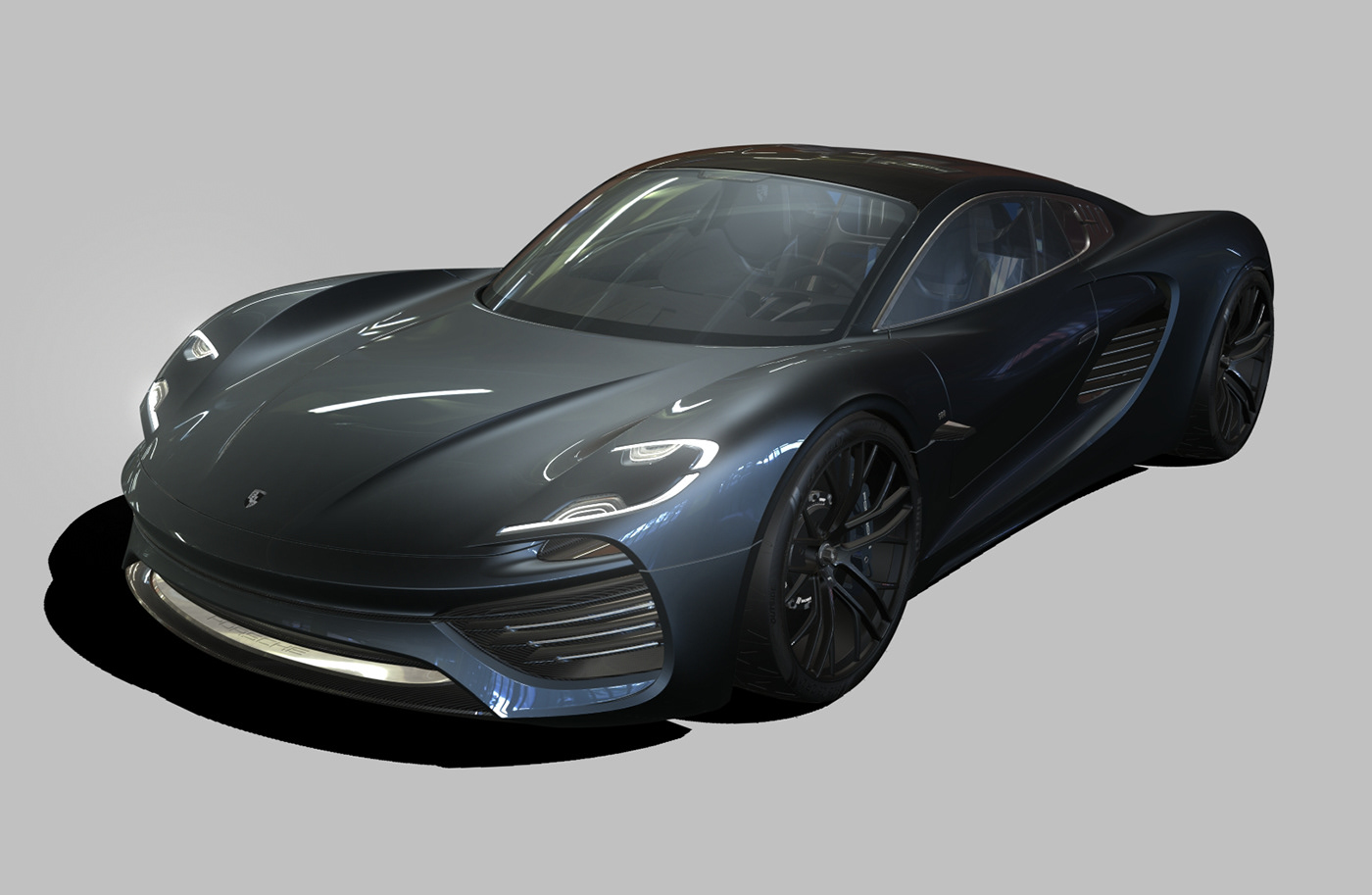 Porsche готовится выпустить свой новый суперкар Porsche 988 Vision