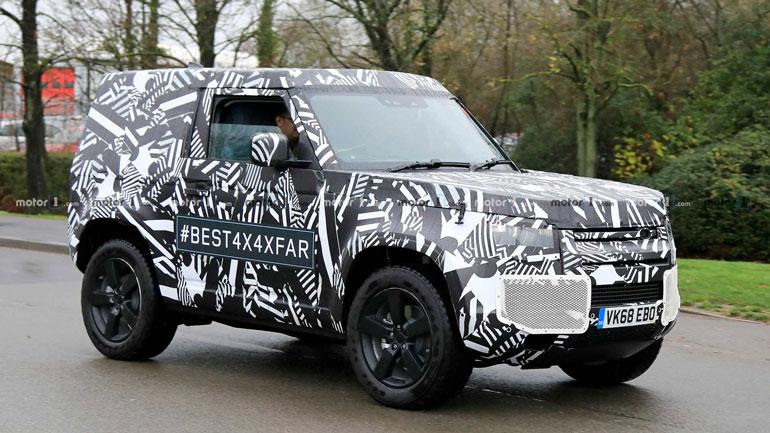 Land Rover показали свой обновленный Defender 2020