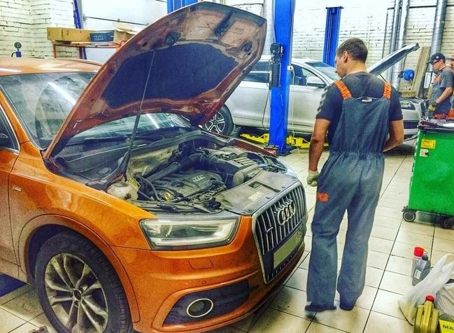 Выбор надежного автосервиса по Audi