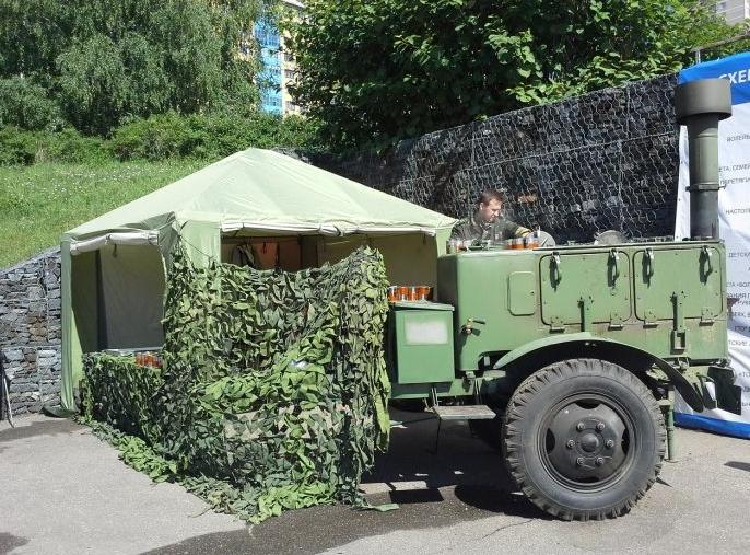 Выездная полевая кухня в Москве
