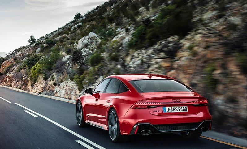 Audi RS7 2021 года