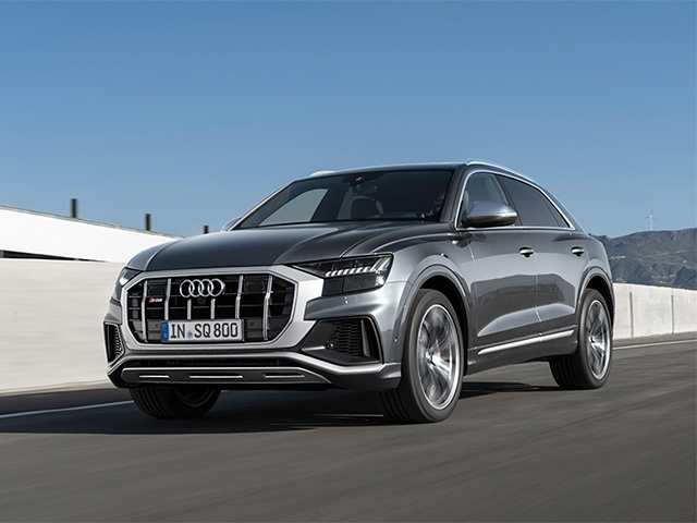 Audi SQ8 2020 года
