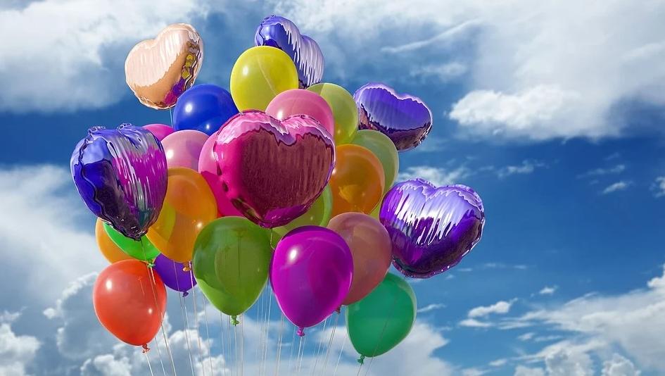 Воздушные шары отличный подарок и украшение