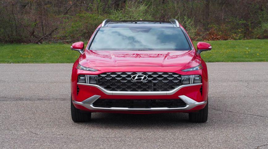 Обзор Hyundai Santa Fe New