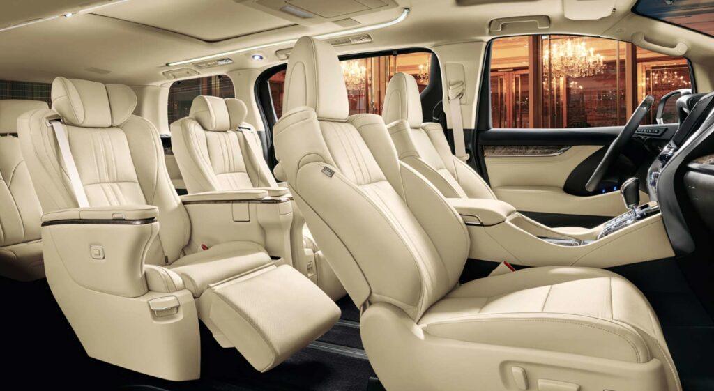 Toyota Alphard обзор футуристического авто